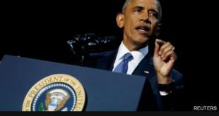 奧巴馬動情 淚灑告別演說
