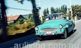具有高收藏價值的經典車輛也常常被盜。(網路圖片)