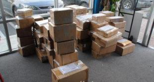 這些包裹是要寄給「歐洲國家官員」.(網路配圖)
