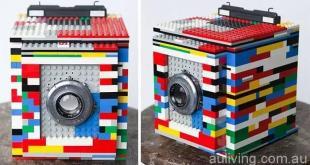 看得出这是啥吗?一台老式照相机!