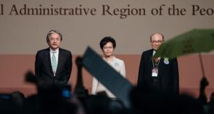林郑月娥以777票当选香港特首。(图片来源:GETTYIMANGE)