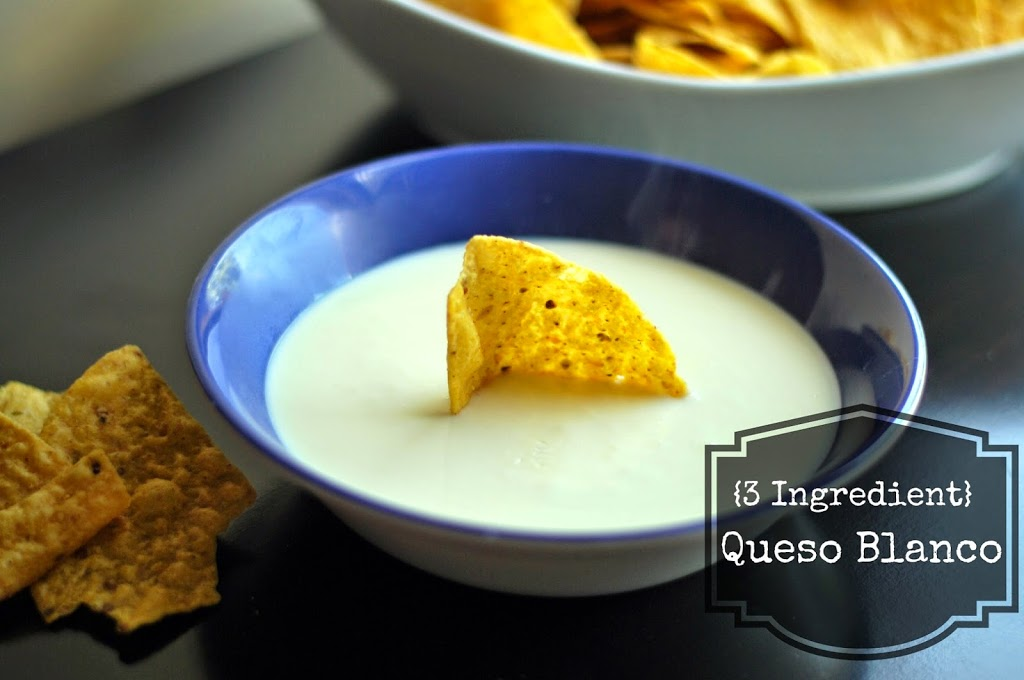 {3 Ingredient} Queso Blanco