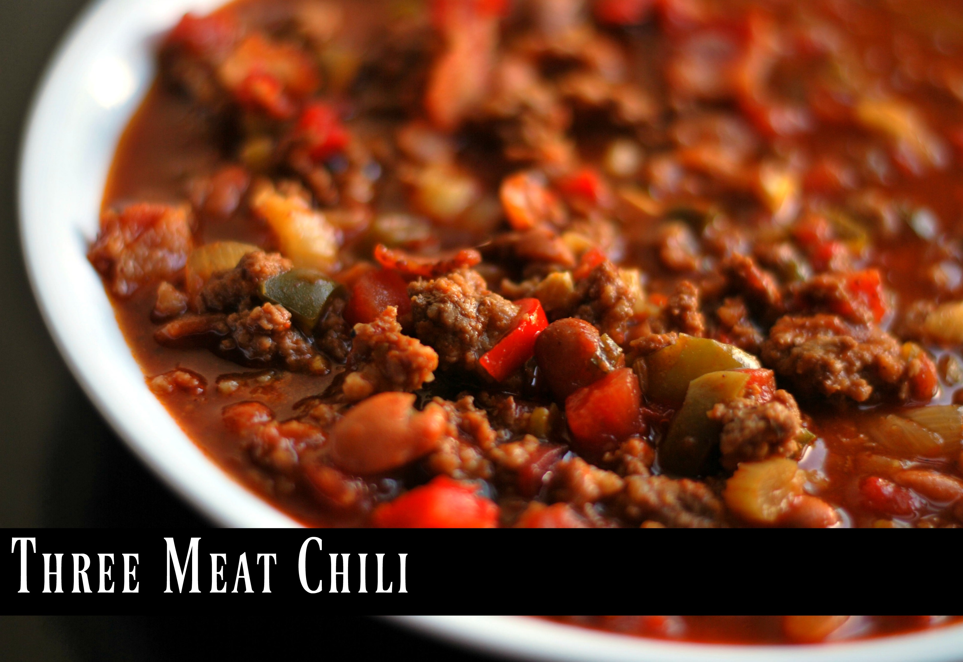 Three Meat Chili