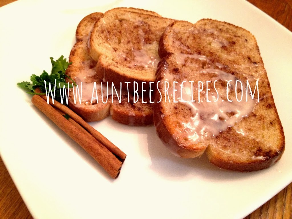 Glazed Cinnamon Toast