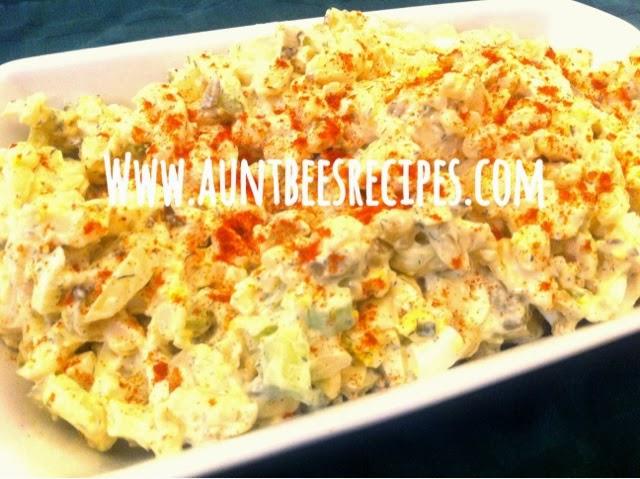 Leftover Macaroni Salad