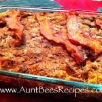 Make Ahead French Toast and Bacon Casserole