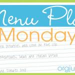 ~Menu Plan Monday~ 2/10/14