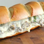 Creamy Italian Sausage & Provolone Baked Subs