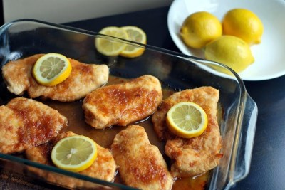 Brown Sugar & Lemon Chicken