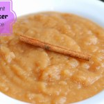 3 Ingredient Slow Cooker Apple Sauce
