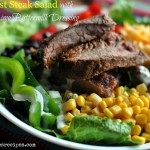 Southwest Steak Salad with Cilantro Lime Buttermilk Dressing