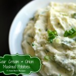 Sour Cream & Onion Mashed Potatoes