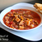 Nana's Ground Beef & Vegetable Soup