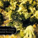 Parmesan Garlic Roasted Broccoli