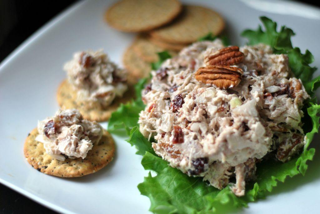 Cherry Pecan Chicken Salad   Aunt Bee's Recipes