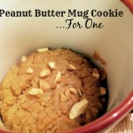 Peanut Butter Mug Cookie….For One