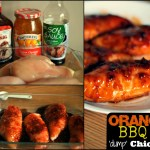 Orange BBQ Dump Chicken