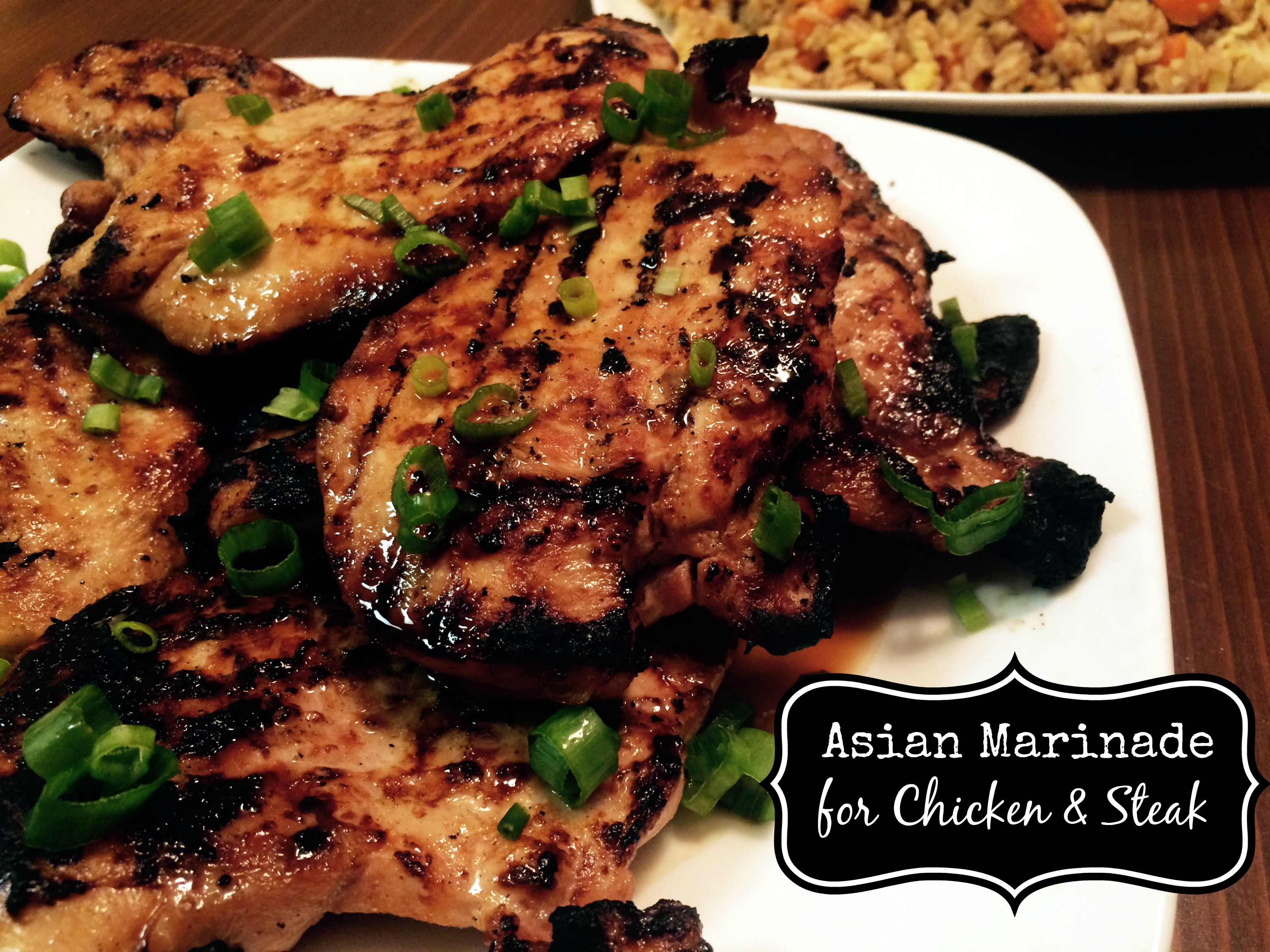 Asian Marinade for Chicken & Steak