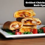 Grilled Chicken Club Roll-Ups