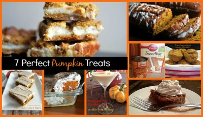 7 Perfect Pumpkin Treats | Aunt Bee's Recipes