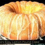 Nana's Easy Lemon Pound Cake