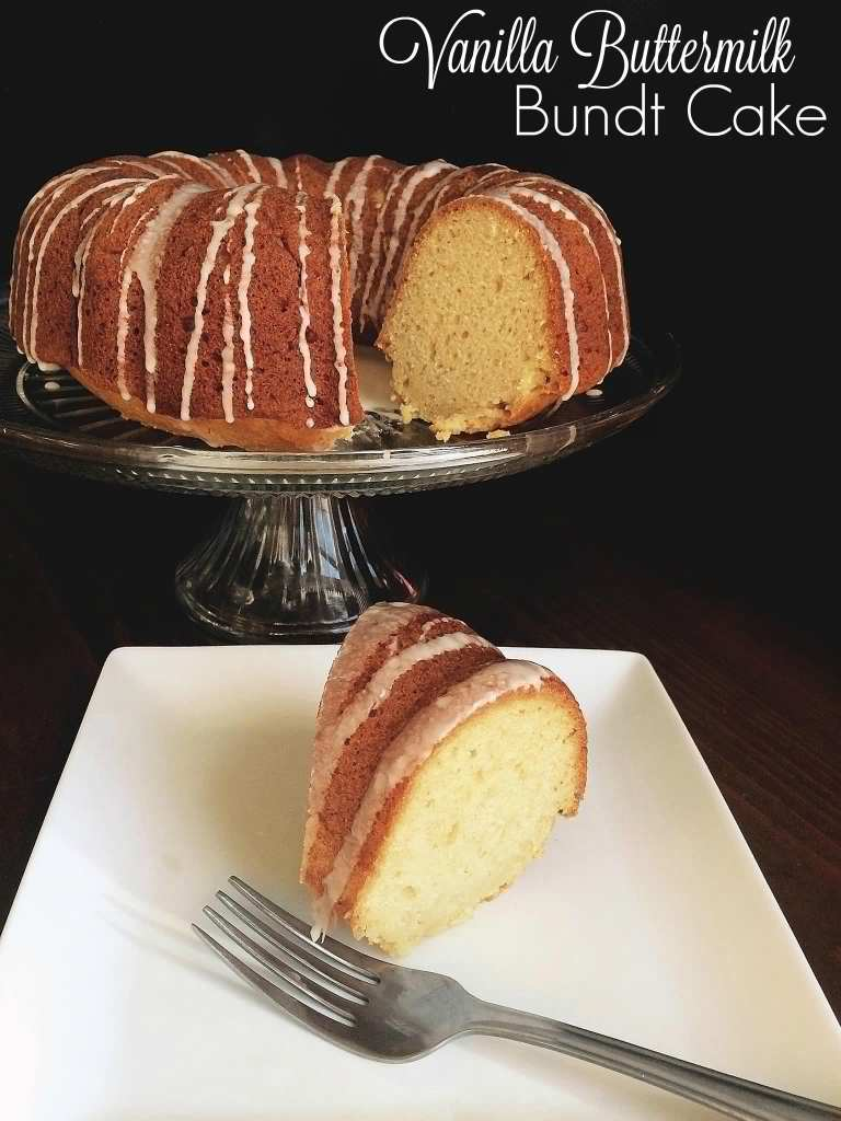 Vanilla Buttermilk Bundt Cake | Aunt Bee's Recipes
