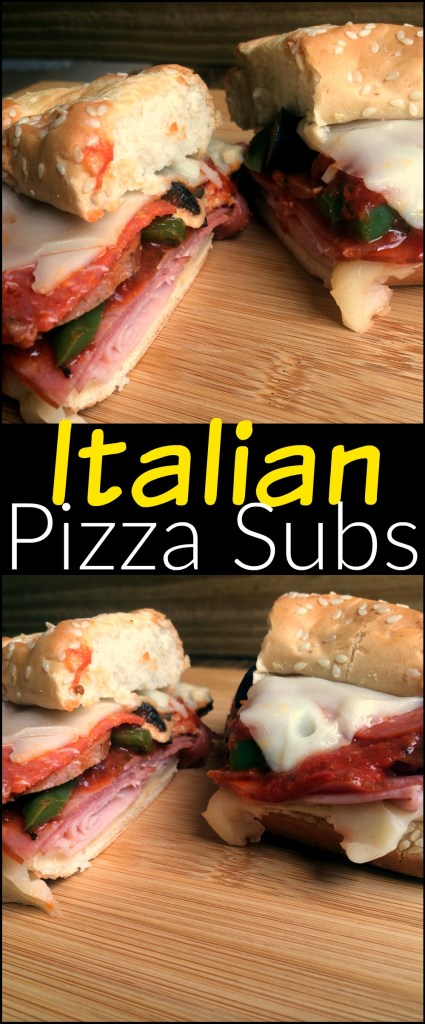 Italian Pizza Subs | Aunt Bee's Recipes