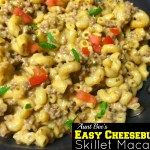 Easy Cheeseburger Skillet Macaroni