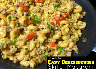 Easy Cheeseburger Macaroni Skillet Meal | Aunt Bee's Recipes
