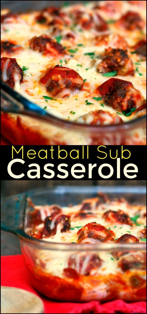 Meatball Sub Casserole | Aunt Bee's Recipes