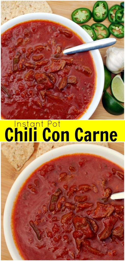 Instant Pot Chili con Carne | Aunt Bee's Recipes