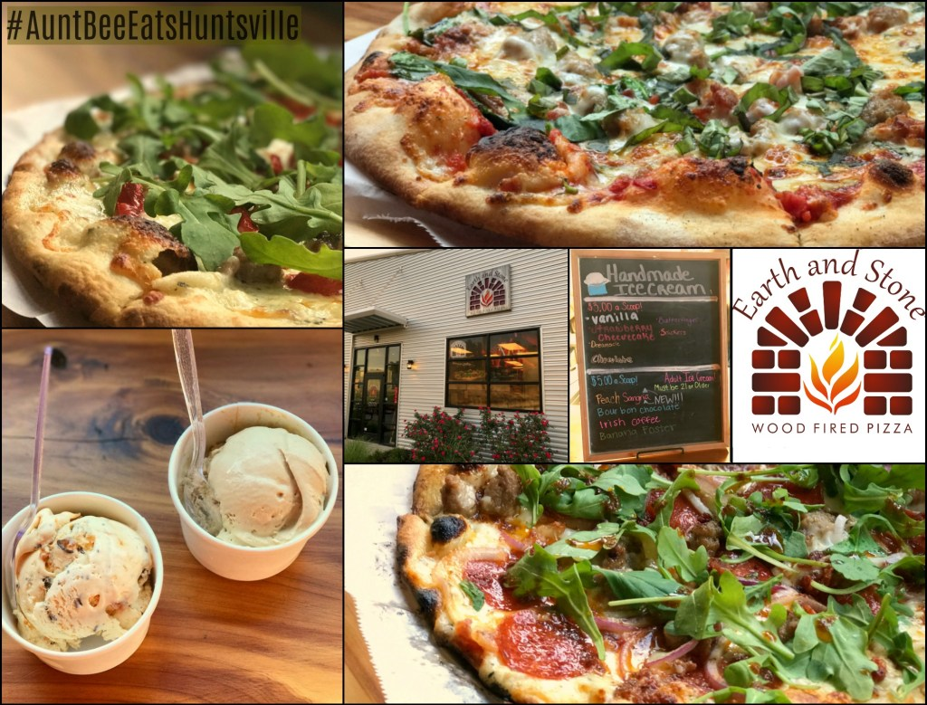 Earth and Stone Wood Fired Pizza #AuntBeeEatsHuntsville | Aunt Bee's Recipes