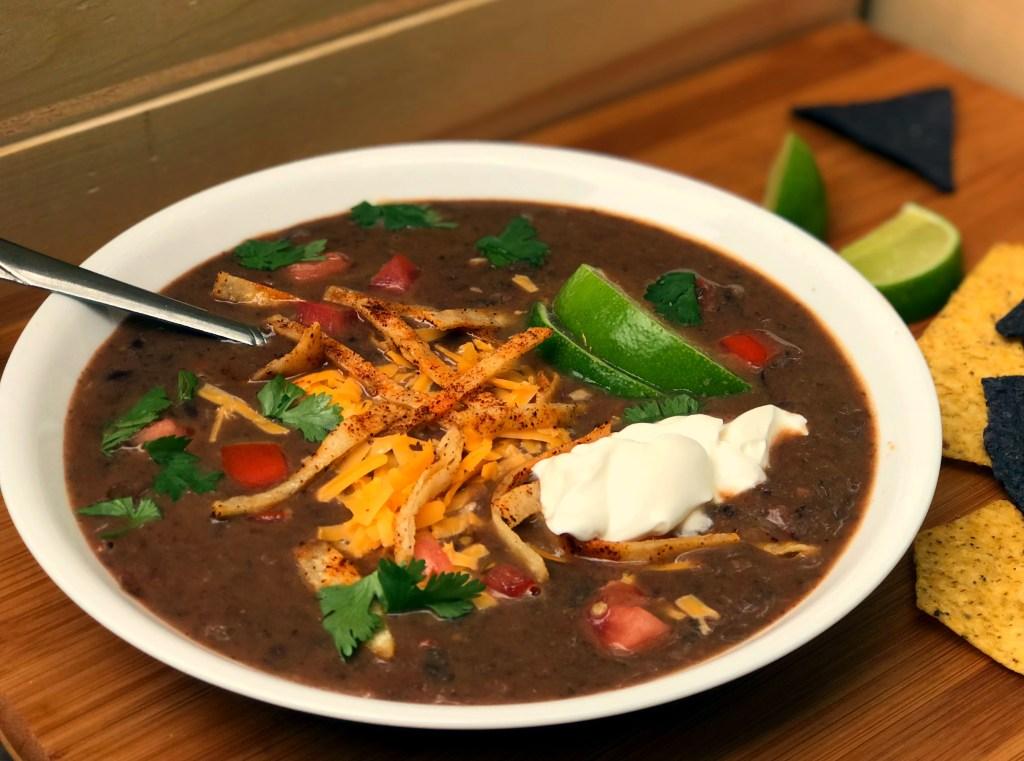 Easy Black Bean Soup 15