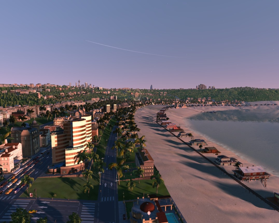 New Coast City Bay