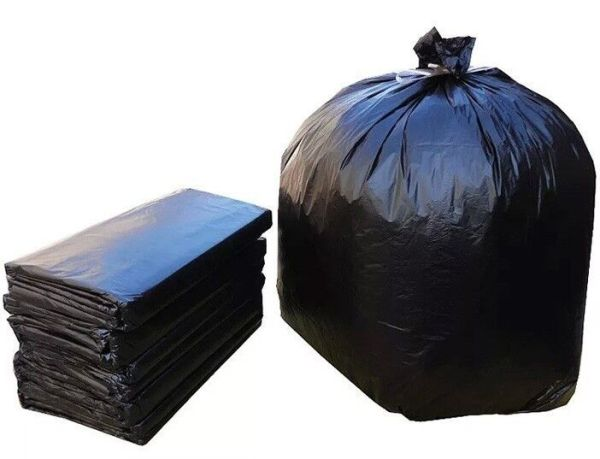 140 Litre Heavy Duty Black Bag