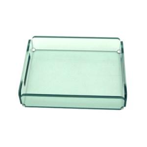 green acrylic tray