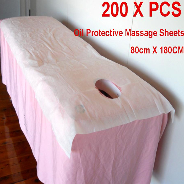 Oil Protective Non Woven Sheet with Breathing Hole