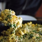 roasted butternut squash + kale mac 'n' cheese