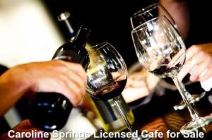 Caroline Springs Licensed Cafe for Sale