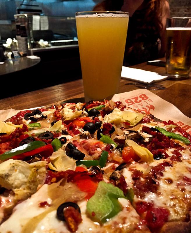 blast 825 taproom SLO pizza