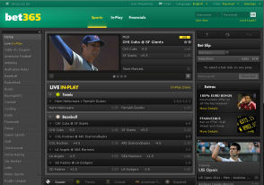 bet365 betting interface
