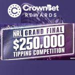 CrownBet Rewards $250,000 NRL Grand Final Tipping Comp