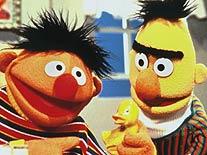 Ernie und Bert. Duh.