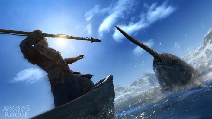 Assassin's Creed Rogue ACRO_screen_Harpooning_narwhal_GC_140813_10amCET_1407873186