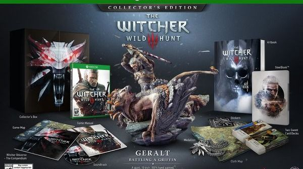 The Witcher 3 Wild Hunt Xbox One Collector's Edition