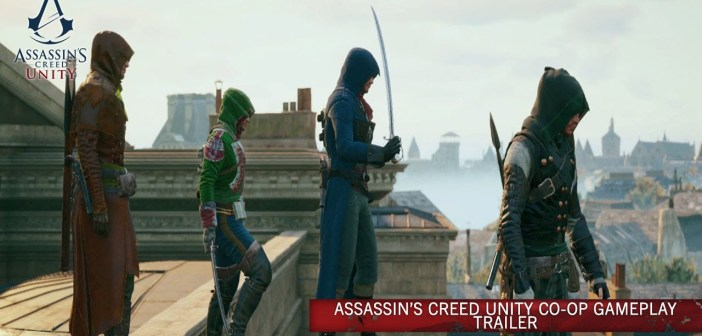 Assassin's Creed Unity Co-Op Gameplay Trailer [UK]