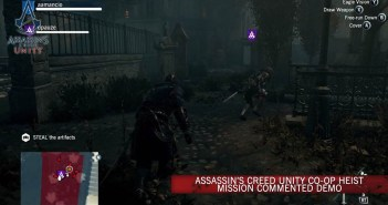 Assassin's Creed Unity Co-op Heist Mission Commented demo
