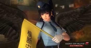 Dead Or Alive 5 Ultimate Police Costume DLC Trailer