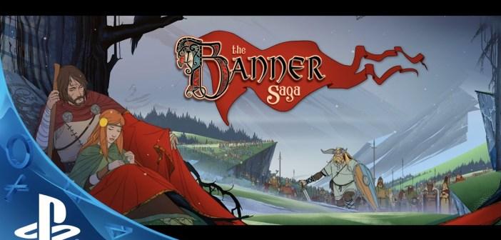 The Banner Saga — Your Saga Starts Now Trailer   PS4, Vita