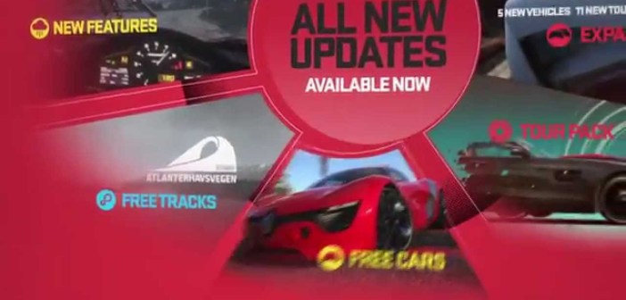 """All #DRIVECLUB updates so far"" video"